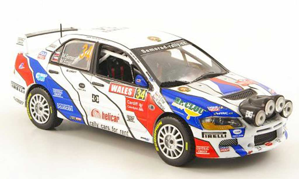 Mitsubishi Lancer Evolution IX 1/43 Vitesse No.34 Rally Grossbritannien 2010 miniature