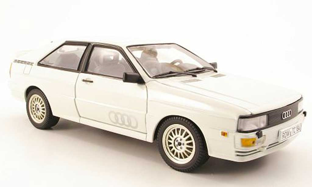 Audi Quattro 1/18 Sun Star blanc 1981 miniature