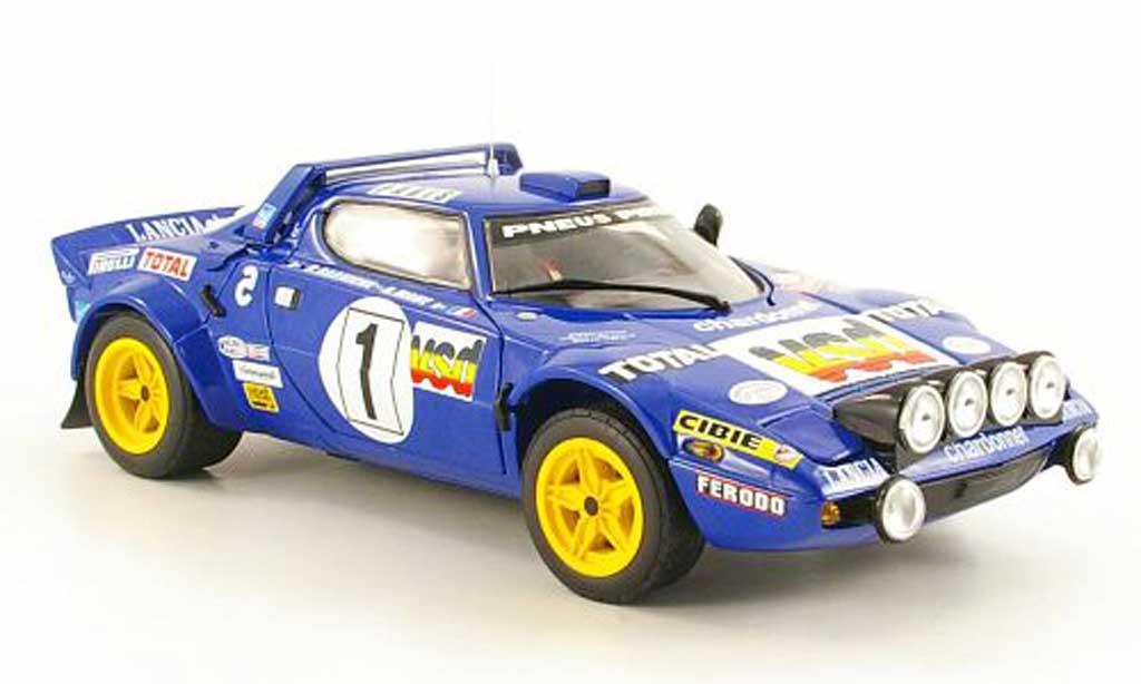 Lancia Stratos Rally 1/18 Sun Star No.1 VSD Rally Monte Carlo 1980 B.Darniche / A.Mahe miniature