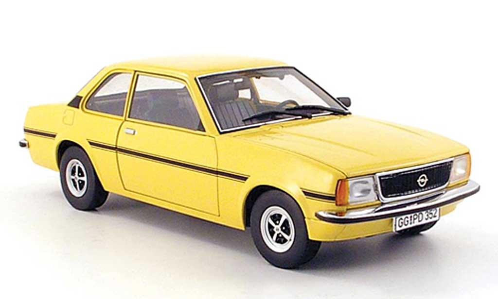 Opel Ascona B 1/18 Sun Star sr jaune-beige 1975 miniature
