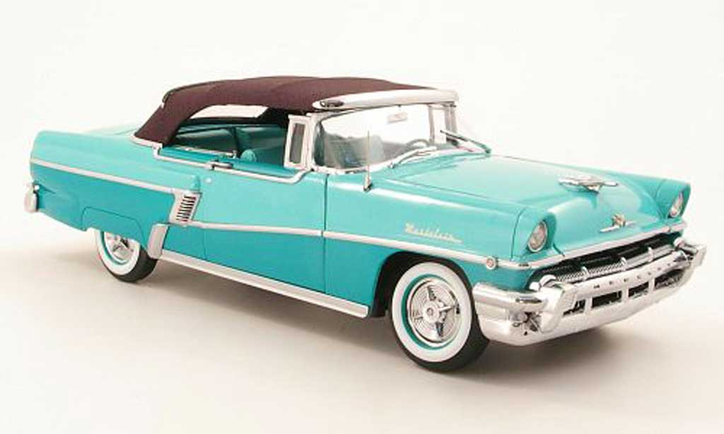 Mercury Montclair 1/18 Sun Star Cabriolet grun 1956 miniature