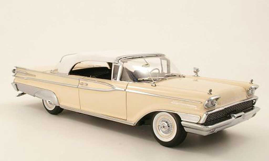 Mercury Parklane 1/18 Sun Star Cabriolet beige/white 1959 diecast