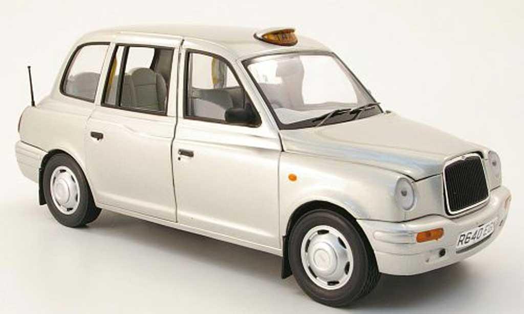 LTI TXI 1/18 Sun Star gray metallized london taxi cab 1998 diecast