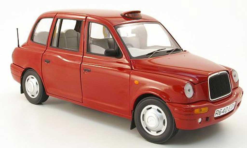 LTI TXI 1/18 Sun Star red london taxi cab 1998 diecast