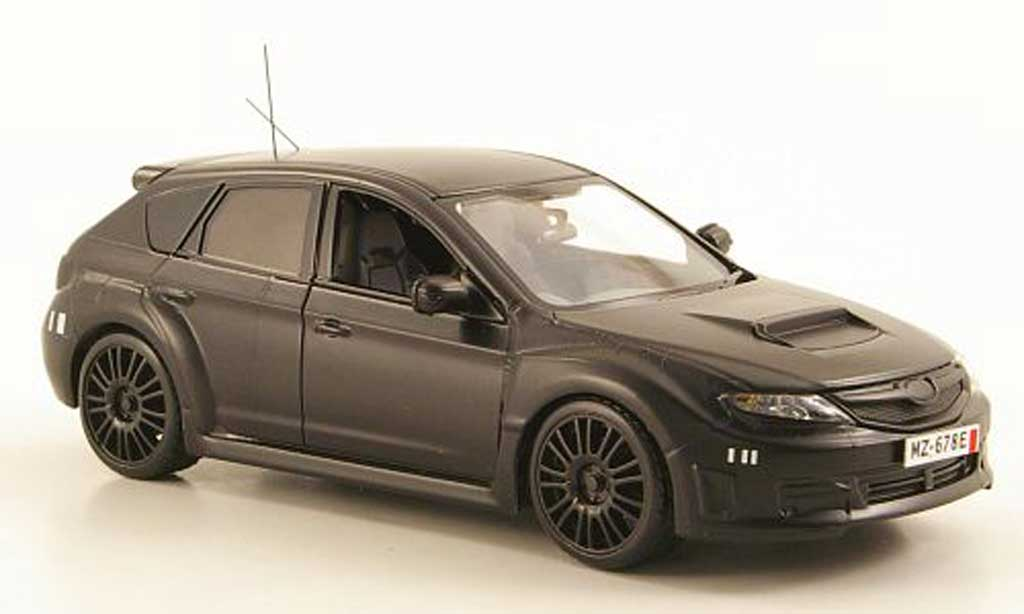 Subaru Impreza WRX 1/43 J Collection STI Nurburgring Testfahrzeug 2008 modellautos