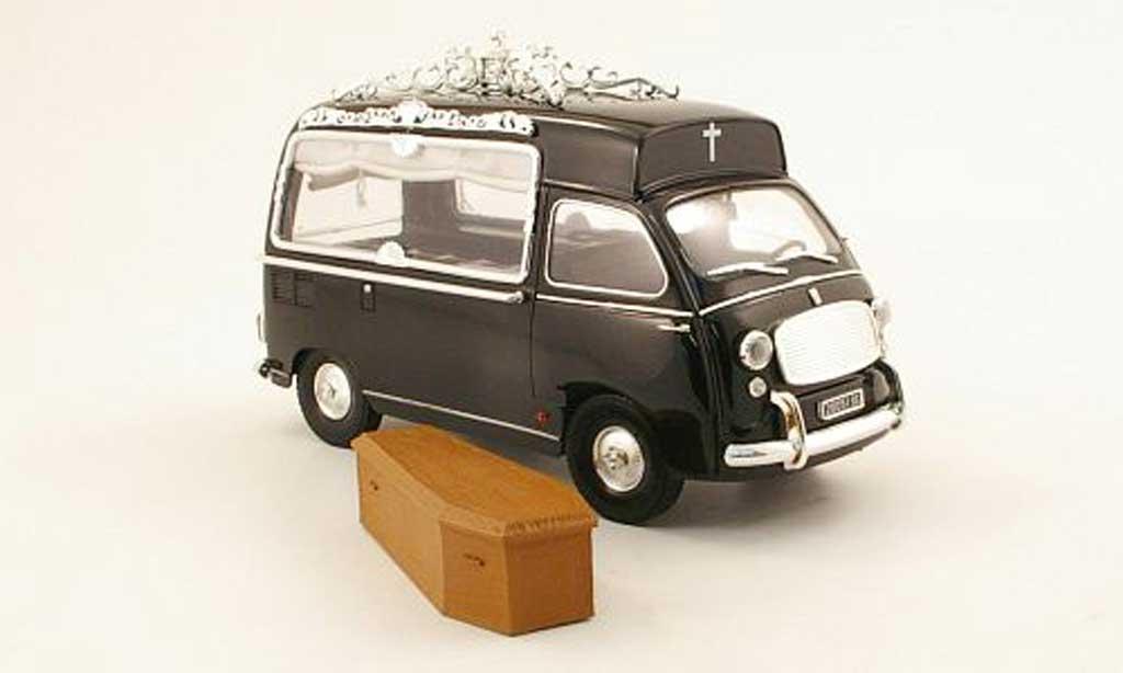 Fiat 600 1/18 Mini Miniera multipla leichenwagen 1962 miniature