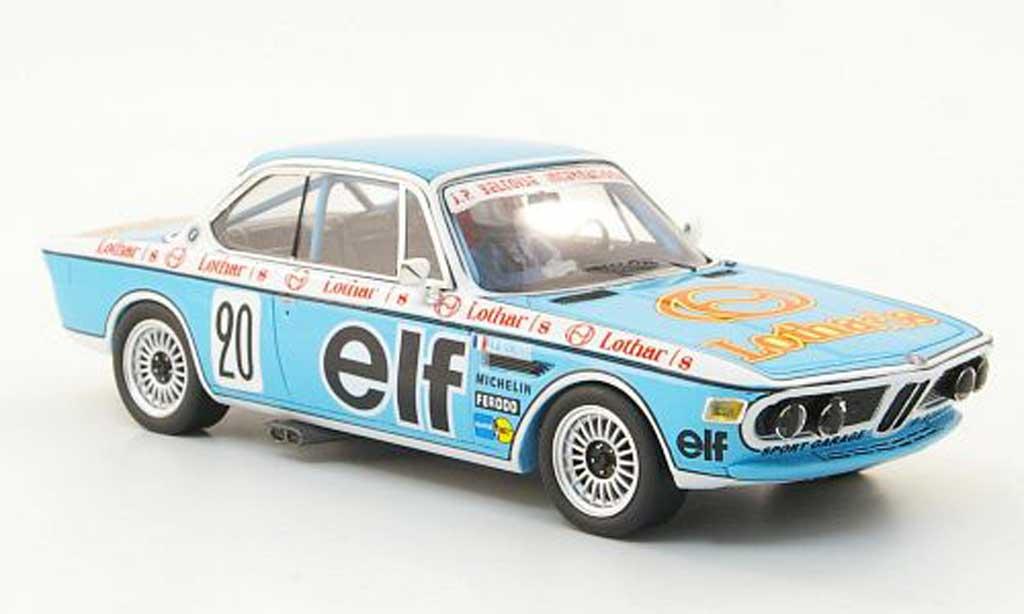 Bmw 3.0 CSL 1/43 Spark No.20 Lothar/8 Produktionswagenmeisterschaft 1976 diecast