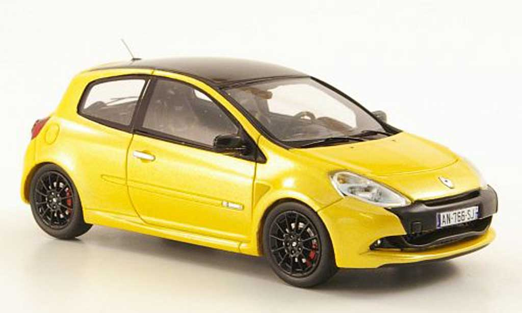 Renault Clio Cup 1/43 Spark R.S. jaune/noire 2011 miniature