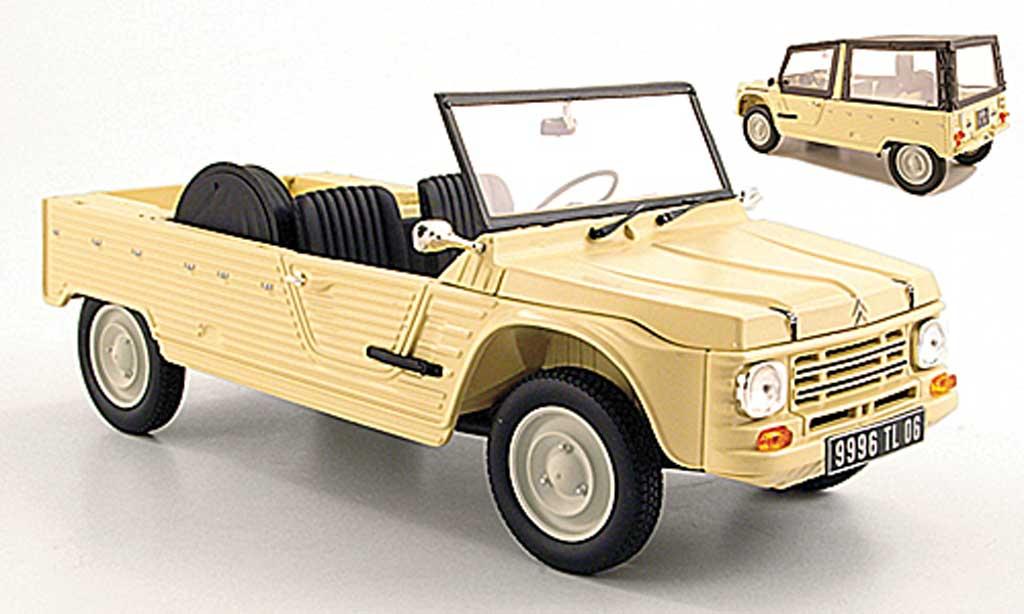 Citroen Mehari 1/18 Norev beige 1983 miniature