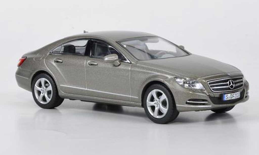 Mercedes Classe CLS 1/43 Norev (C 218) mattgrise 2010 miniature