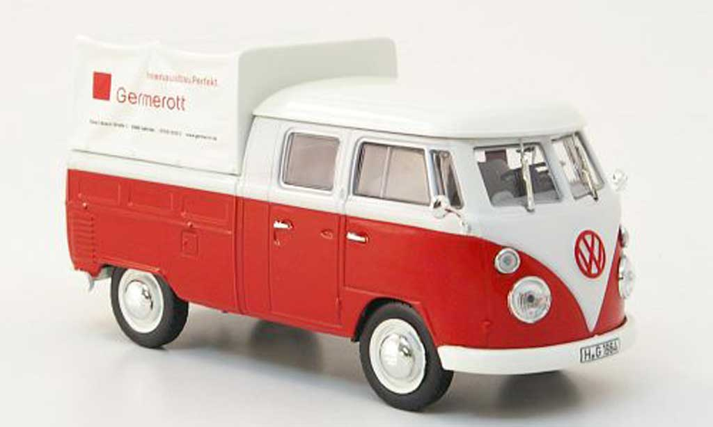 Volkswagen T1 B 1/43 Norev b Doka-Pritsche Germeredt 1961 diecast