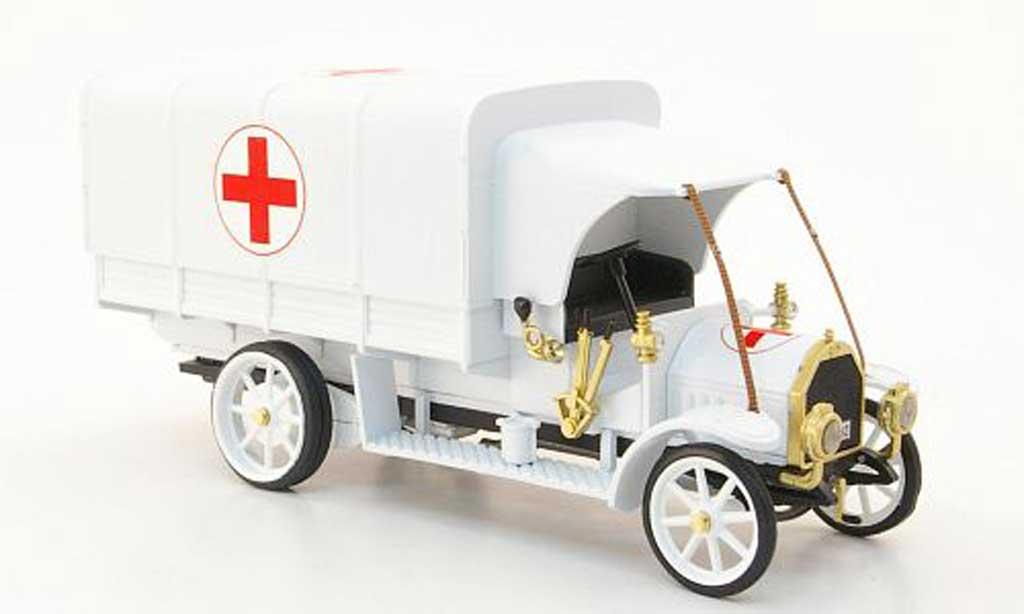 Fiat 18 1/43 Rio BL redes Kreuz Italien Rettungswagen  1915 diecast