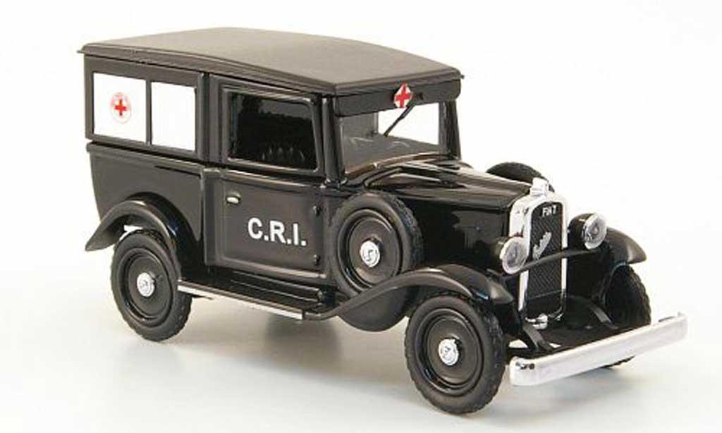 Fiat Balilla 1/43 Rio redes Kreuz Italien 1935 diecast model cars