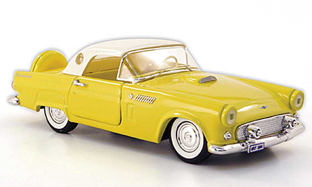 Ford Thunderbird 1956 1/43 Rio Hardtop yellow/white diecast model cars
