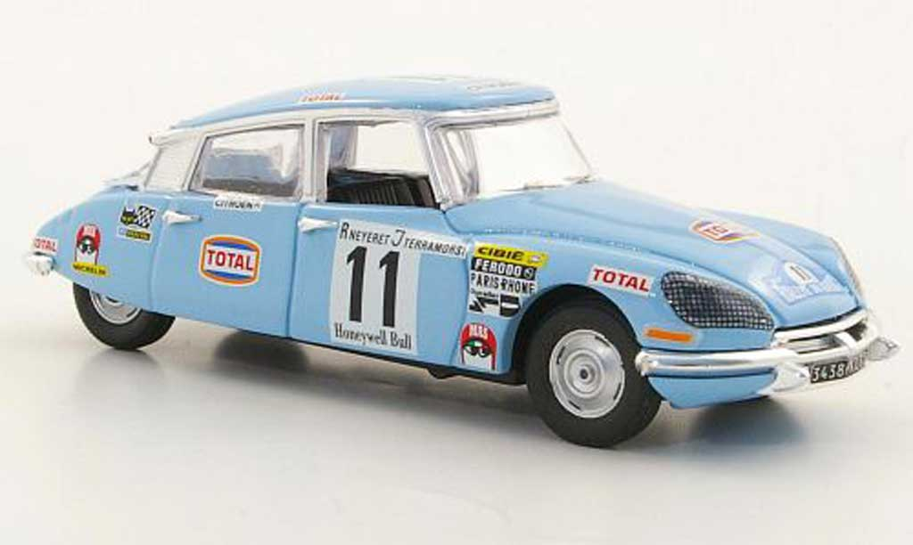 Citroen DS 21 1/43 Rio No.11 Neiret / Terramorsi Rally Marokko 1972 miniature