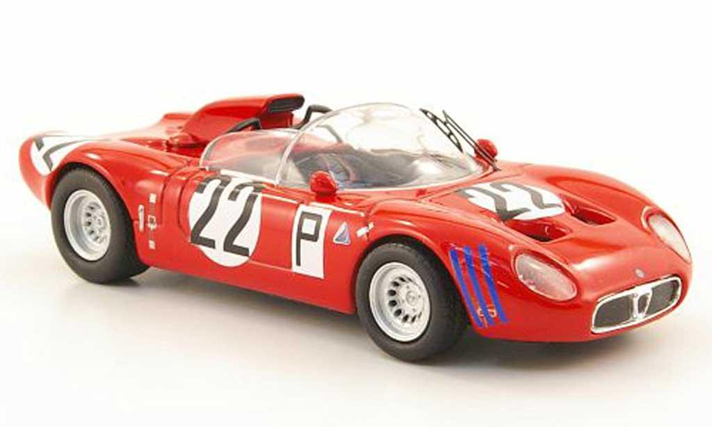 Alfa Romeo 33.2 1967 1/43 M4 Fleron No.22 Nurburgring miniature
