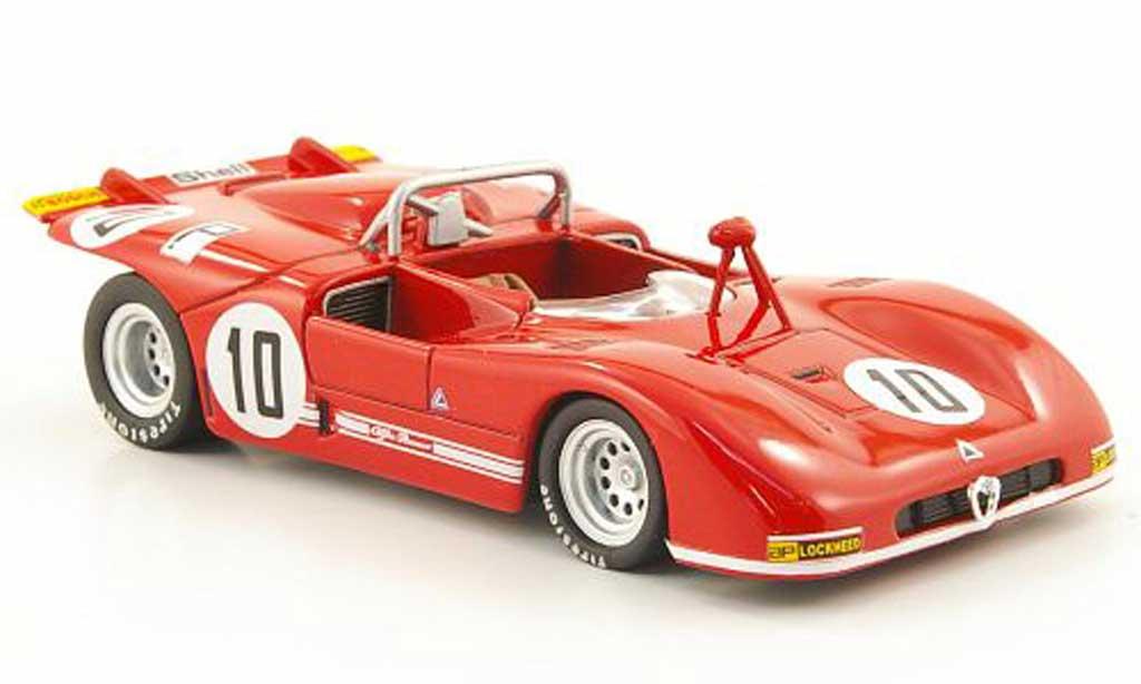 Alfa Romeo 33.3 1971 1/43 M4 No.10 Stommelen/Galli Nurburgring miniature