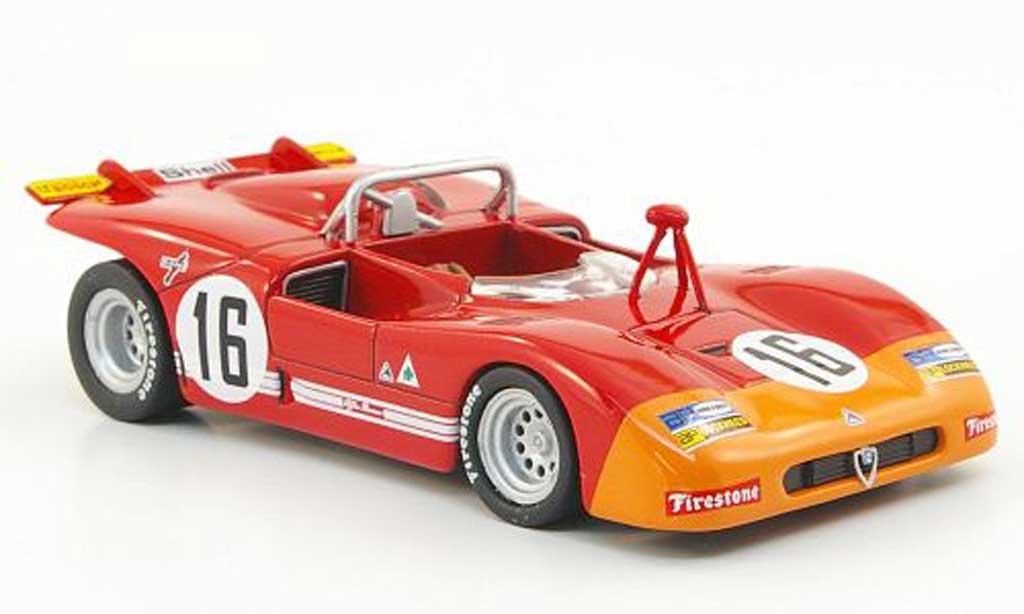 Alfa Romeo 33.3 1971 1/43 M4 No.16 Monza miniature