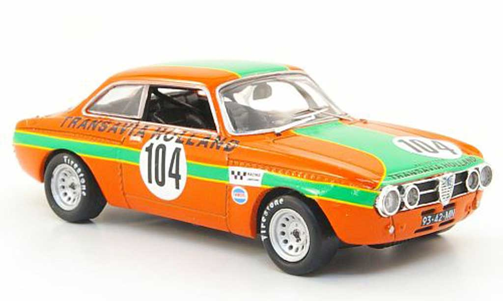 Alfa Romeo Giulia GT Am 1/43 M4 No.104 Zandvoort 1970 diecast
