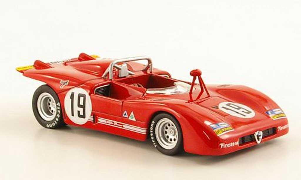 Alfa Romeo 33.3 1971 1/43 M4 No.19 Stommelen/Galli Monza miniature