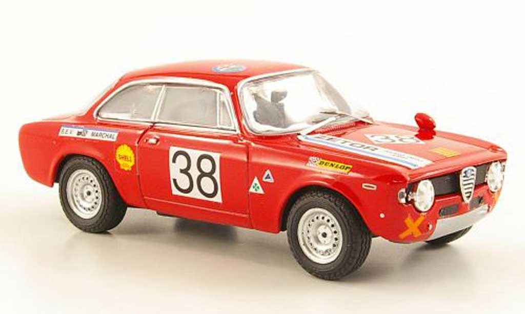 Alfa Romeo Giulia 1300 GTA 1/43 M4 No.38 Zetor Racing Team Bunn 1969 miniature