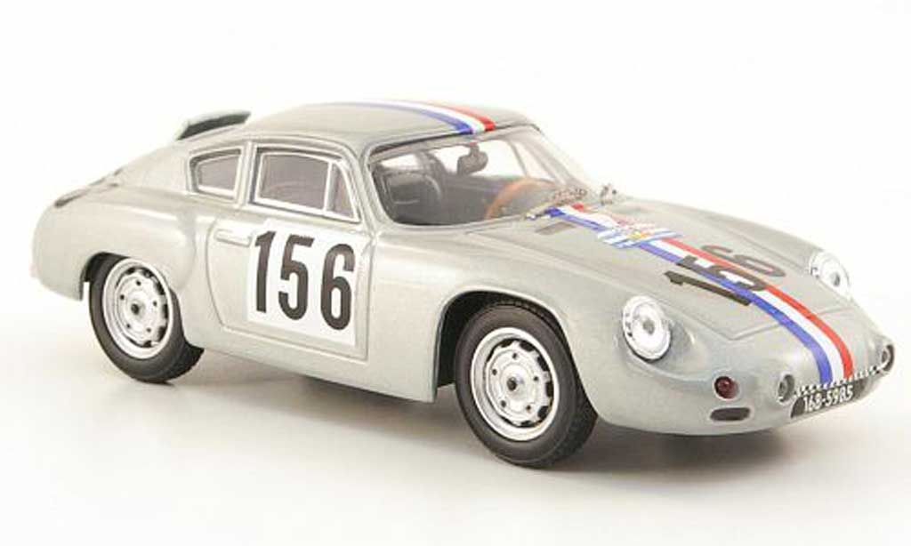 Porsche Abarth 1/43 Best No.156 Tour de France 1961 R.Bouchet coche miniatura
