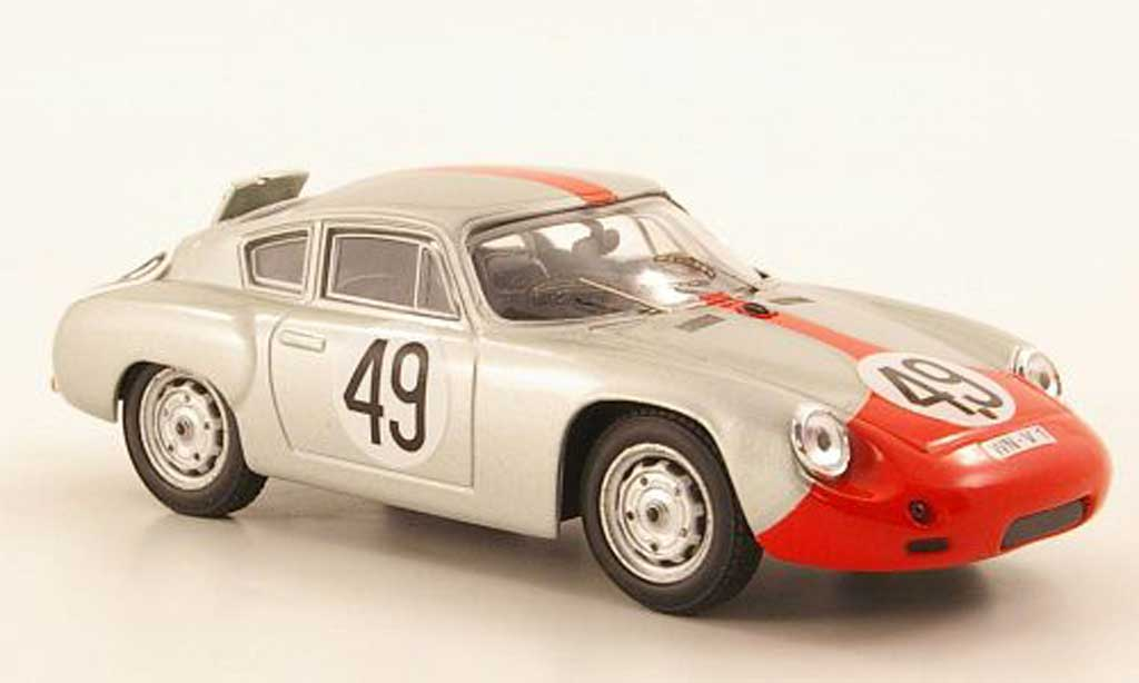 Porsche Abarth 1/43 Best No.49 Strahle/Hahn Sebring 1962 miniatura