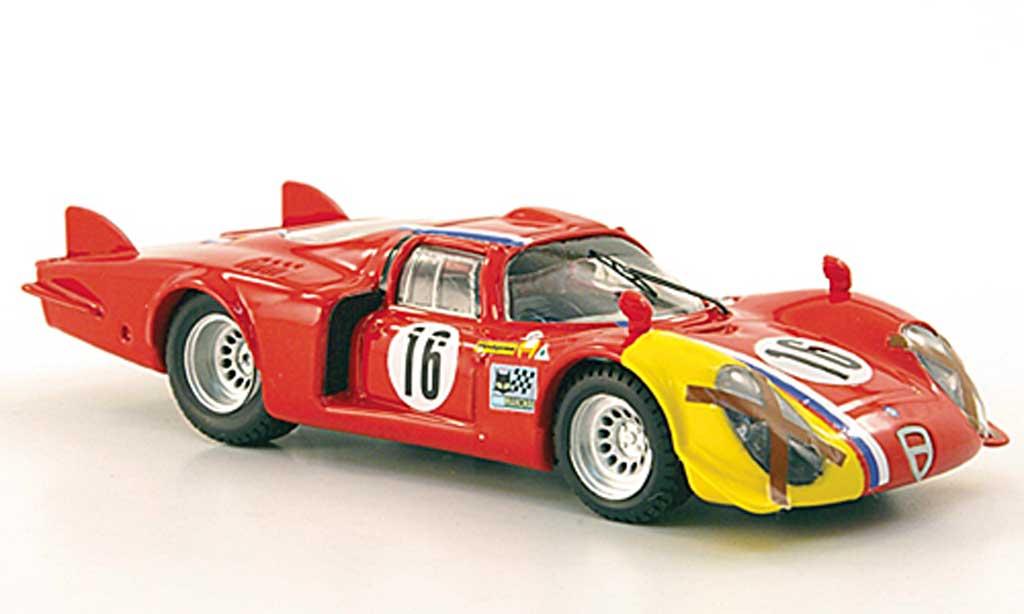 Alfa Romeo 33.2 1968 1/43 Best Lunga No.16 T.Pilett Spa miniature