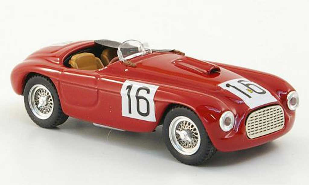 Ferrari 166 1950 1/43 Art Model Spyder No.16 Paris miniature