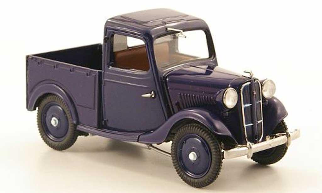 Datsun 17 1/43 Ebbro Truck bleu 1937 miniature