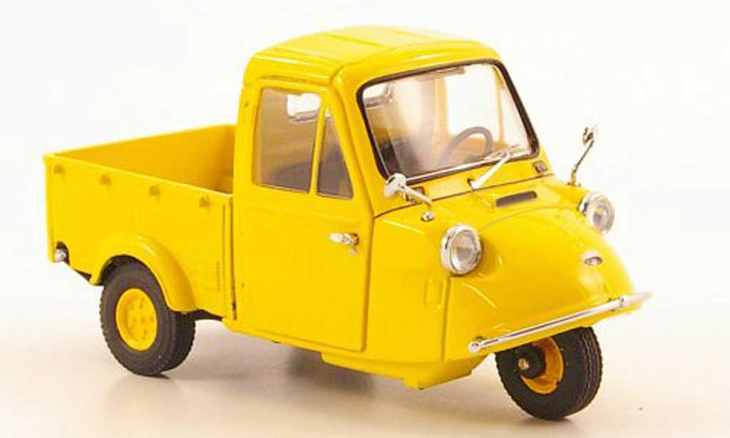 Daihatsu Tri-Mobile 1/43 Ebbro yellow 1959 diecast model cars