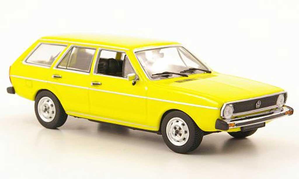 Volkswagen Passat 1/43 Minichamps I Variant (Typ 33) jaune 1974 miniature