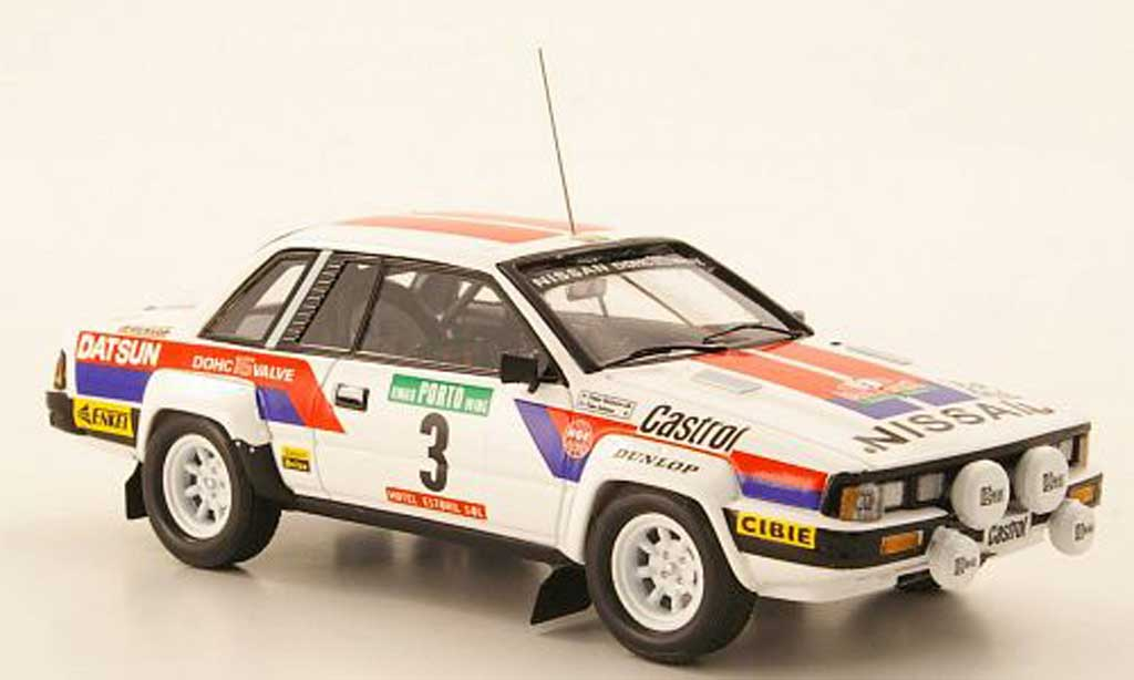Nissan Silvia 1/43 Bizarre (S110) No.3 Rally Portugal 1982 miniature