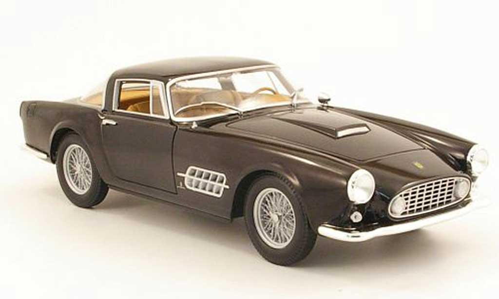 Ferrari 410 1/18 Hot Wheels superamerica noire miniature