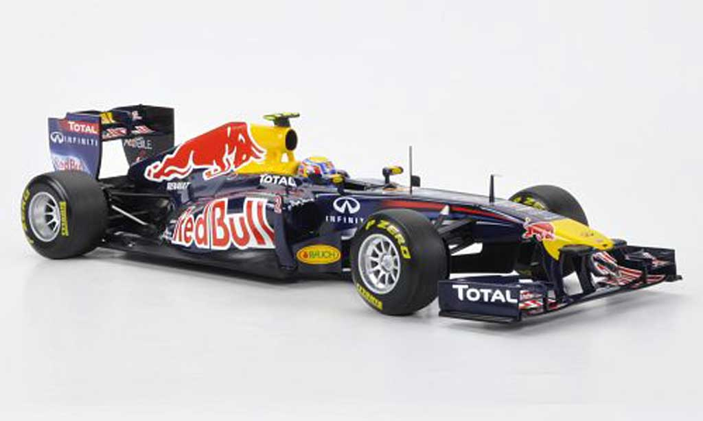 Renault F1 1/18 Minichamps Red Bull RB7 No.2 M.Webber F 1 Saison 2011 miniature