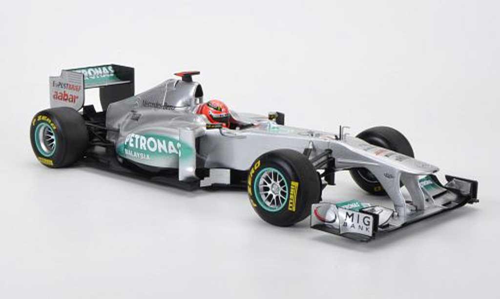 Mercedes F1 1/18 Minichamps MGP W02 No.7 Petronas M.Schumacher F1 Saison 2011 miniature