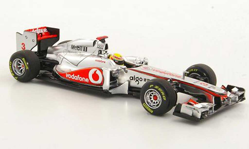 Mercedes F1 2011 1/43 Minichamps McLaren MP4-26 No.3 L.Hamilton Saison miniature