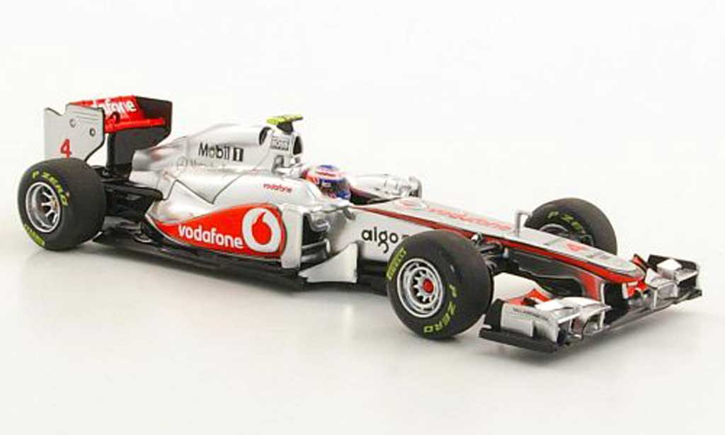 Mercedes F1 2011 1/43 Minichamps McLaren MP4-26 No.4 J.Button Saison miniature