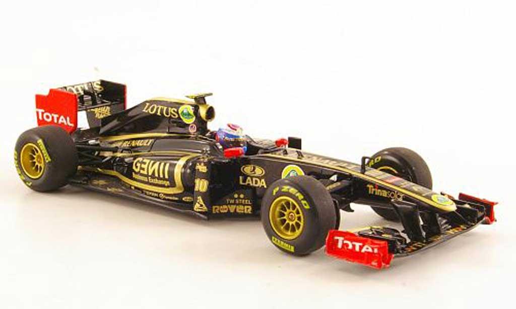 Renault F1 2011 1/43 Minichamps Lotus GP R31 No.10 V.Petrov Saison miniature