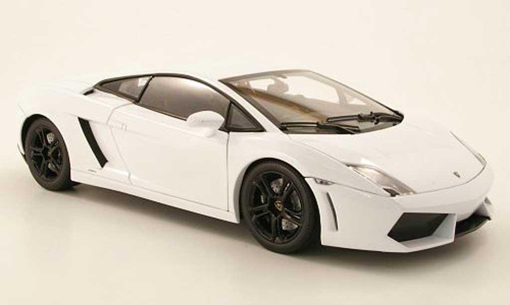 Lamborghini Gallardo LP560-4 1/18 Norev whitegray 2009 diecast