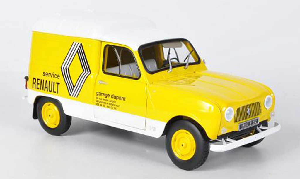 Renault 4 F4 1/18 Norev F Service 1972 miniature
