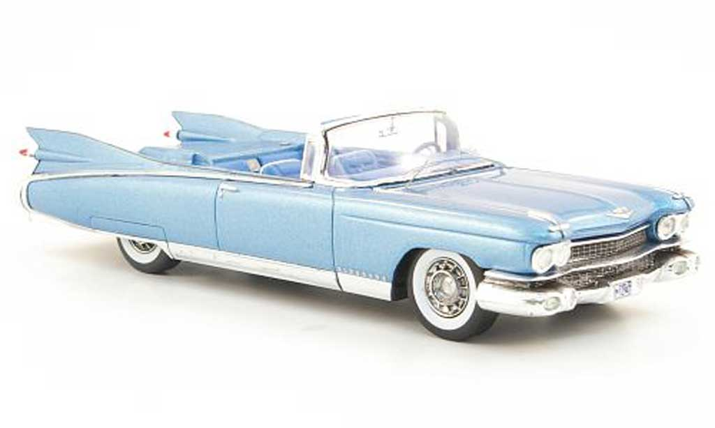 Cadillac Eldorado 1/43 Spark Biarritz bleu Sondermodell MCW L.E. 300 1959 diecast model cars