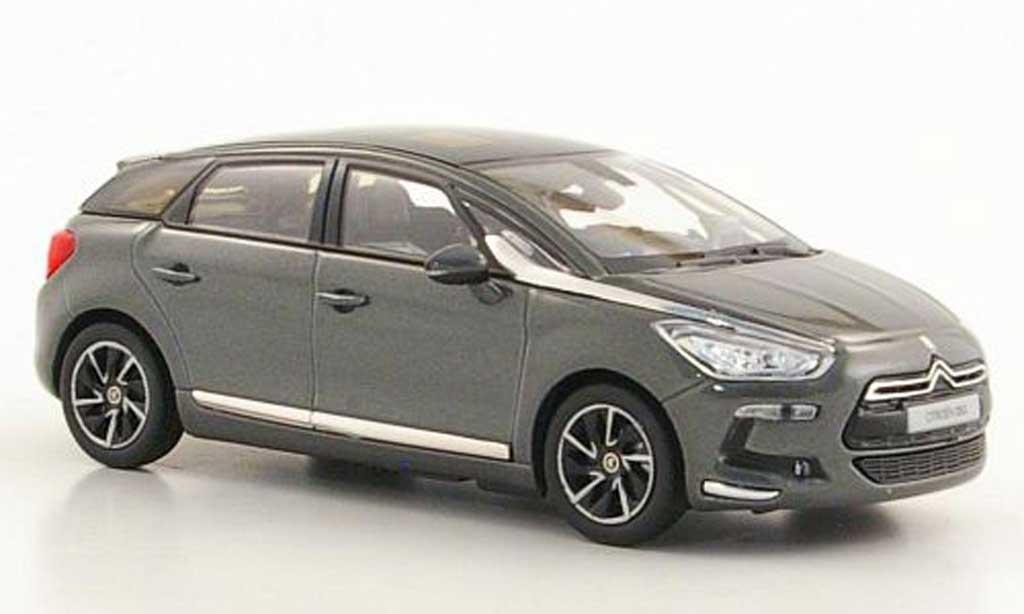 DS Automobiles DS5 1/43 Norev grise 2011 miniature