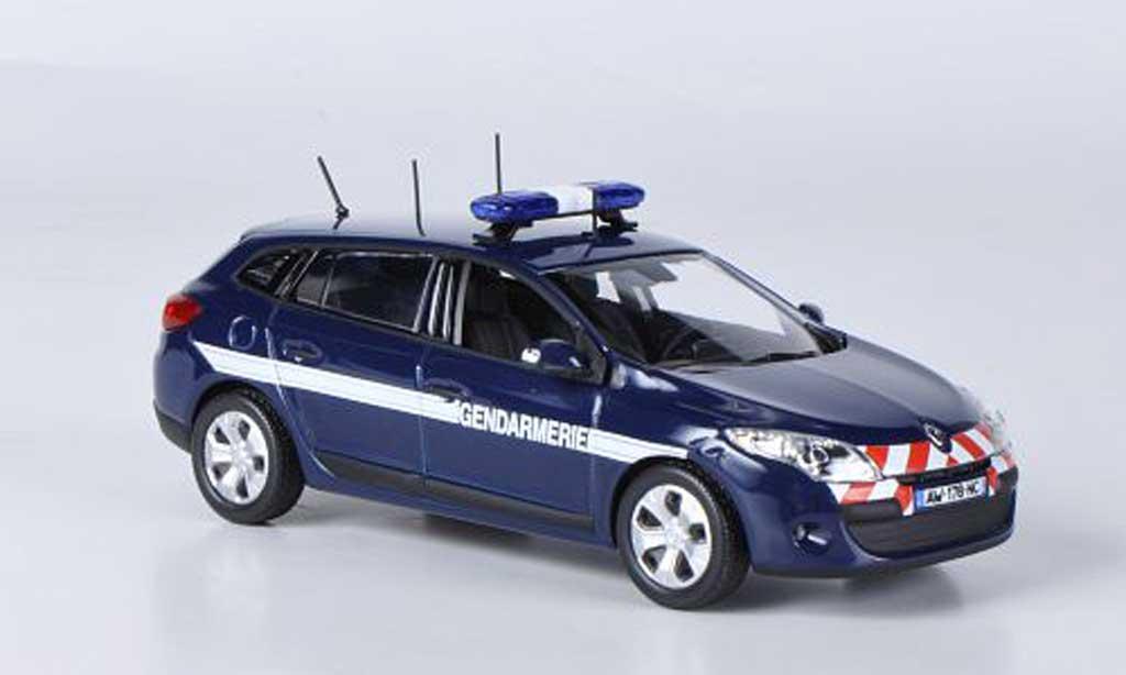 Renault Megane Estate 1/43 Norev Gendarmerie 2010 miniature