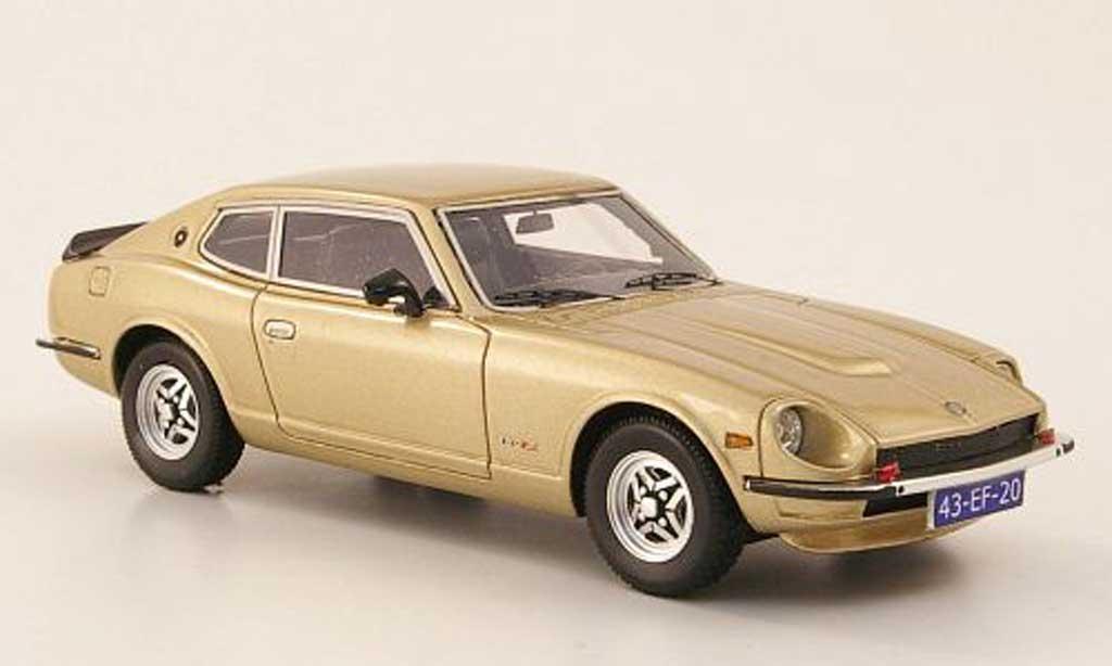 Datsun 260Z 1/43 Neo 2+2 gold 1975 miniatura