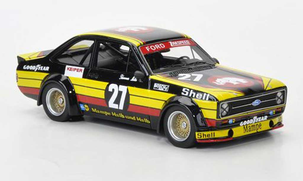 Ford Escort MK2 1/43 Neo  Gr.2 No.27 Mampe W.Schommers/S.Muller Nurburgring limited edition Stuc 1977 miniature