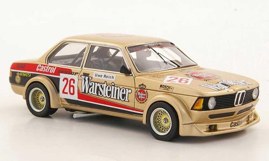 Bmw 320 E21 1/43 Neo i (E21) Gr.2 No.26 Warsteiner U.Reich limited edition DRM 1979 diecast
