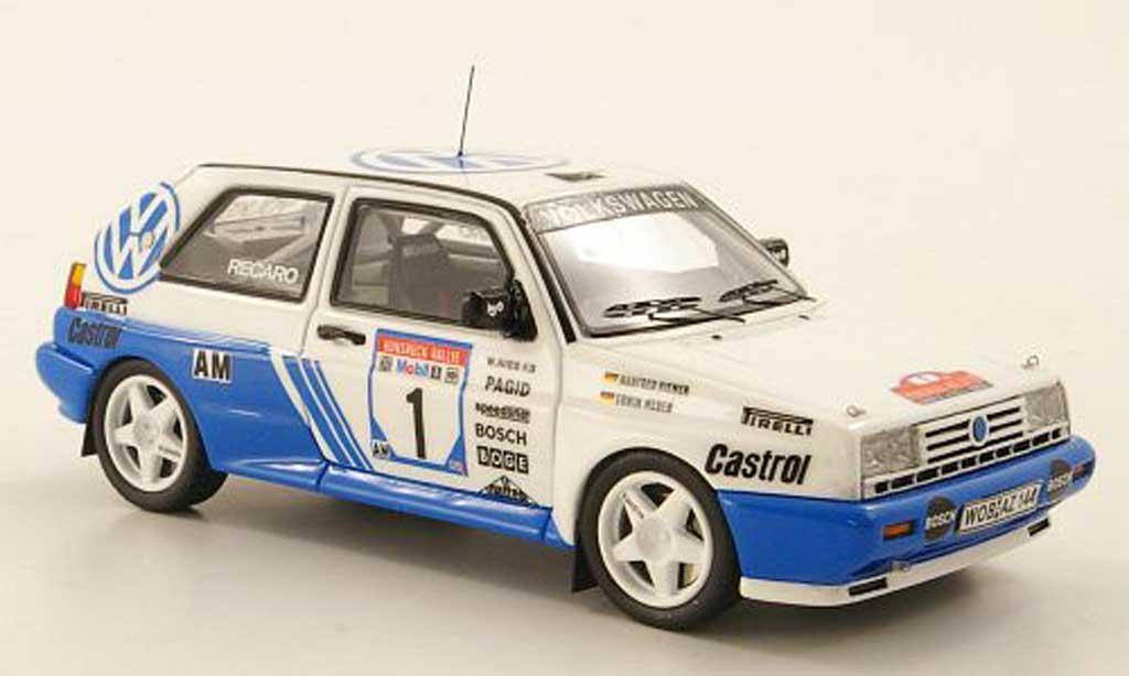 Volkswagen Golf 2 Rallye 1/43 Neo G60 No.1 E.Weber / M.Hiemer Rally Hunsruck 1991 miniature