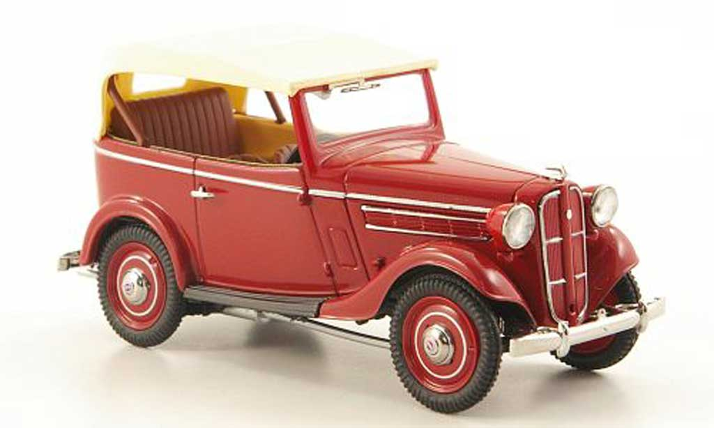 Datsun 17 1/43 Ebbro Phaeton rouge/beige 1938 miniature