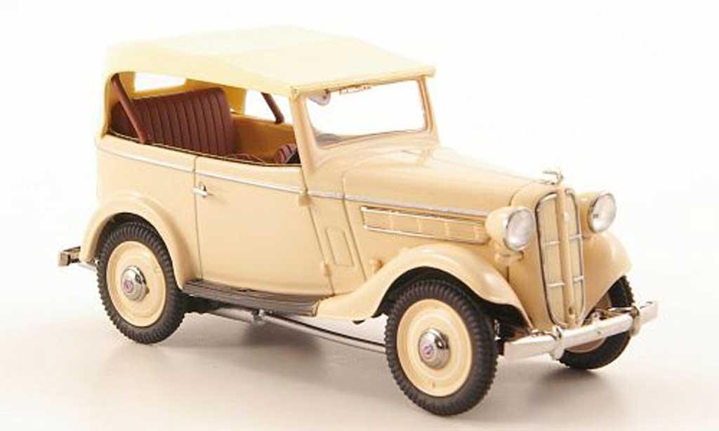 Datsun 17 1/43 Ebbro Phaeton marron/beige 1938 miniature